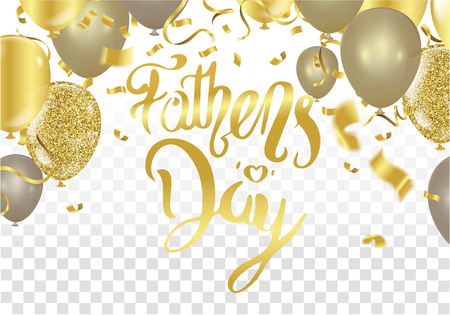 Fathers Day Card or background. vector illustration