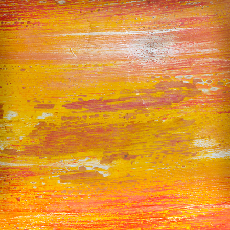 colorful paint: colorful paint on paper background Stock Photo
