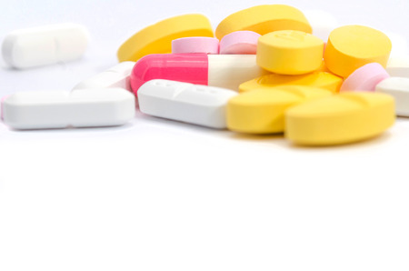 Variety of medicines and drugs photo