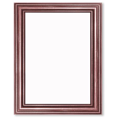 frame on wall: Antiche mura antica cornice, carta da parati, oggetti decorativi isolato sfondo bianco Archivio Fotografico