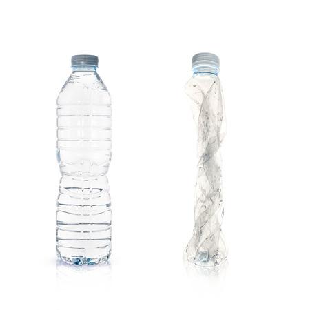 managing waste: plastic bottles