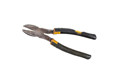 flatnose: flat-nose pliers isolated on a white background