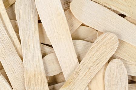 helados con palito: Palillo de madera para el fondo helado