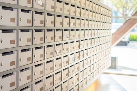 Locker post box or mail box