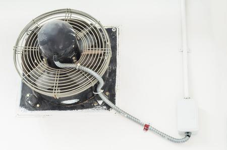 exhaust fan: Industrial exhaust fan.