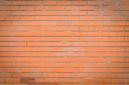 red wall: red brick wall texture Stock Photo