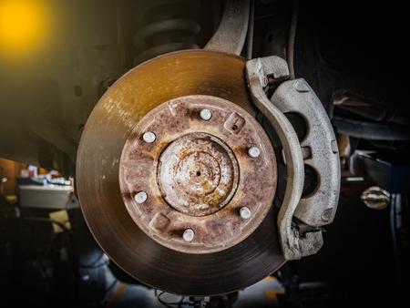 Disc brake repair for maintenance