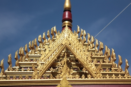 The isolated picture of the top of Thai