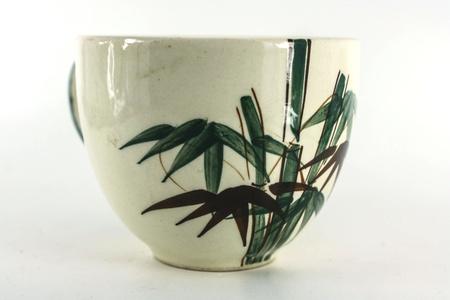 caff� bianco foto tazza � specie di bamb� Archivio Fotografico