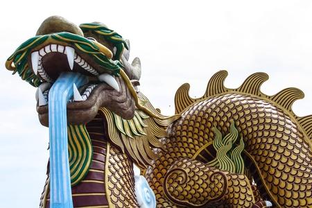 descendants: Big dragon Descendants Museum in thailand Editorial