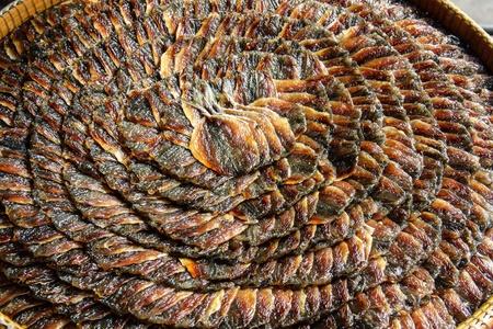 gourami: dried up gourami
