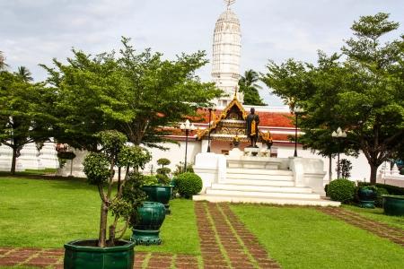 Un wat da sopra a Bangkok, Thailandia Editoriali