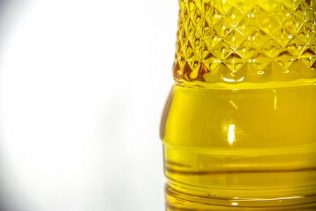 Bottiglia di acqua vicino, immagine quadrata Archivio Fotografico