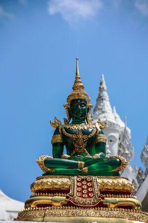 Image of Jade Buddha at chiangrai Thailand