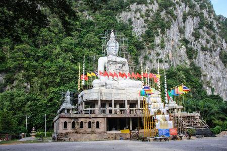 Image Big Buddha statue or Pra Puttamingmongkol Akenakkiri Stock Photo