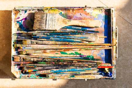 Many drawing brushes are already in use.