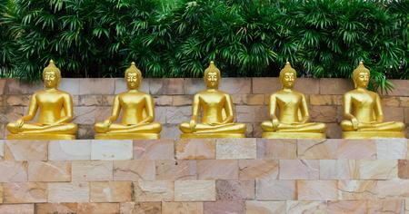 仏像タイ 写真素材