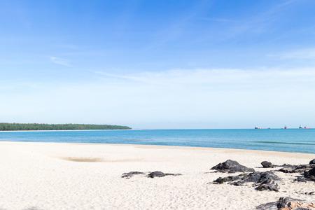 Samila beach and sea in Songkhla, Thailand