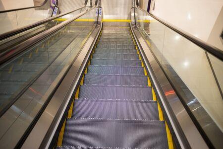 escalator: escalator Stock Photo