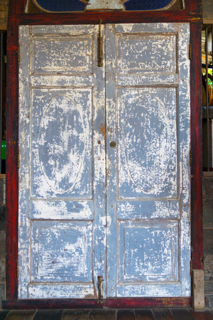 Old wooden door color gray and background
