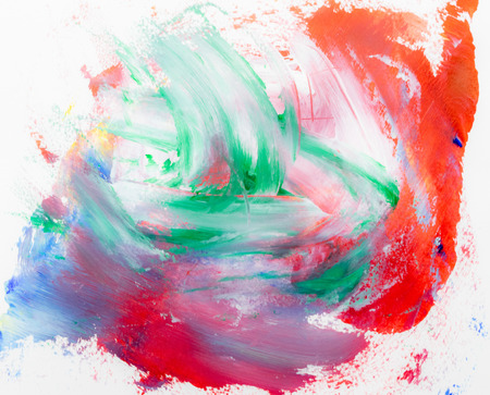 Frame watercolor art hand paint abstract and background or wallpaper Banco de Imagens - 122588149