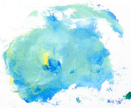 Frame watercolor art hand paint abstract and background or wallpaper Banco de Imagens - 122588754