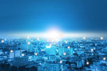 Technology city Network communication network the system