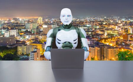 Robotic Process Automation technology RPA working for humans