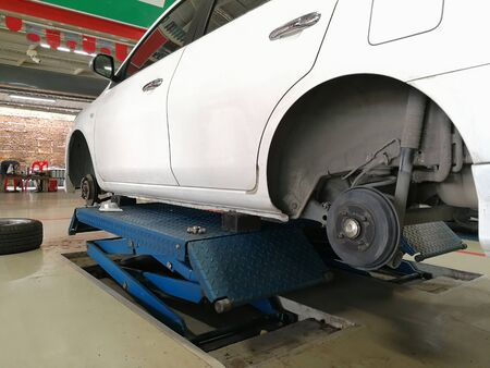 Changing new tires safety or Car Tire deterioration