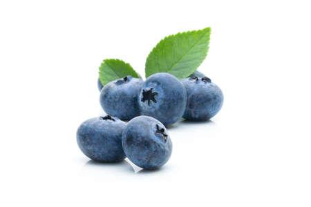 Blueberry fruit on a white background Foto de archivo - 152341401