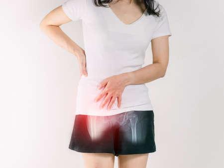 Waist pain women and hip inflammation