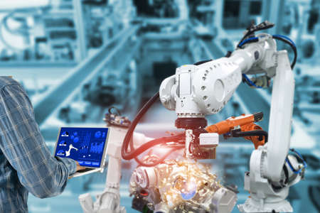 Control engineer Robotic arms, industrial robots, factory automation machines