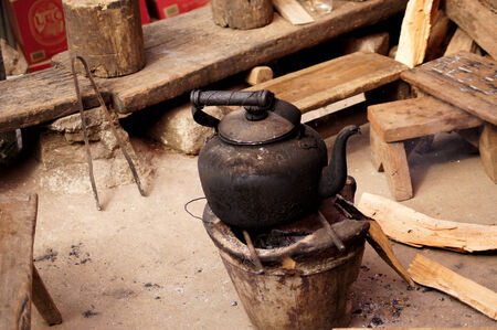 demode: old kettle with old life style