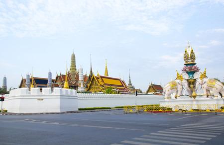 Wat Phra Kaew, The Grand Royal of temple in Bangkok photo
