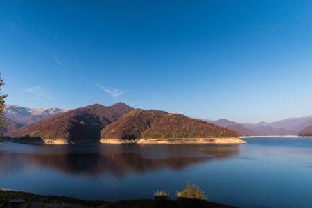 Amazing mountain lake Stock Photo