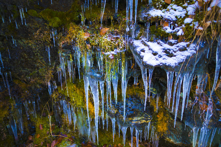 Frozewn icicles