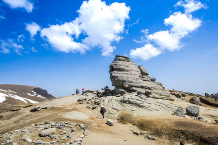 The Sfinx , Carpathian Mountains Stock fotó
