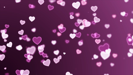 Abstract background with heart rising for valentine's day holiday Archivio Fotografico - 119270994