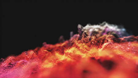Abstract lighting, dust, particle and glare on a dark background. Archivio Fotografico - 119271005