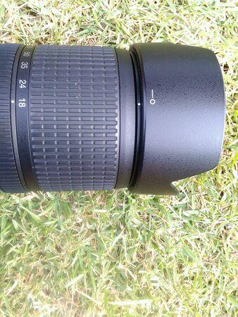 back: Lense camera