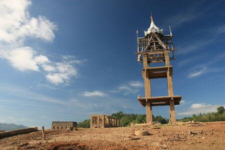wang: Temple under Water Thailand (Wat Wang Wiwekaram)