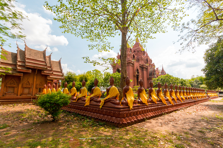 Wat khao phra angkhan the temple during the Dvaravati period. Located in Buriram Province Thailand.