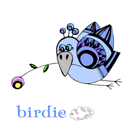 birdie illustration