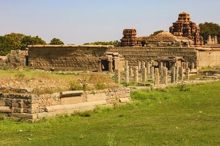 karnataka: Danaiks Enclosure or Dannayakas enclosure is an important inner district of the Vijayanagar capital in Hampi, Karnataka, India.