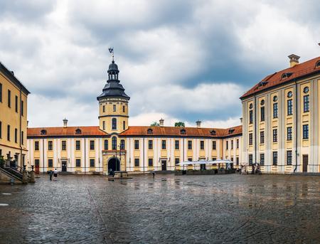 Nesvizh Castle Complex in Minsk region, Belarus.