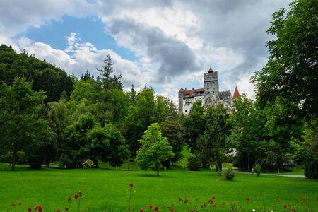 Bran or Dracula Castle in Transylvania, Romania. Redactioneel