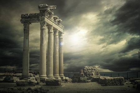 Temple of Apollo Reklamní fotografie