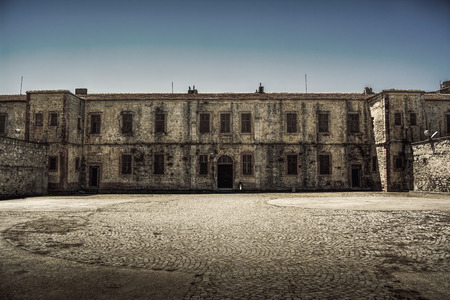 ancient prison: Old Historical Building