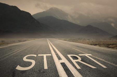 Commencez votre vie Banque d'images - 33534285