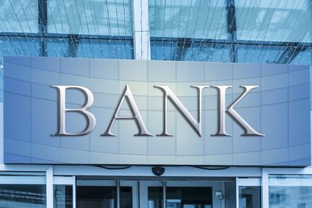 Bank gebouw Stockfoto